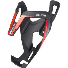 Elite Vico Bidonhouder Carbon, zwart/rood